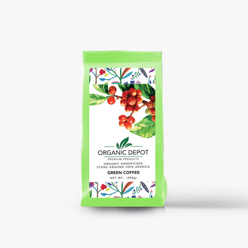 Green Coffee Powder Organic - Kaaveri Coffee Products